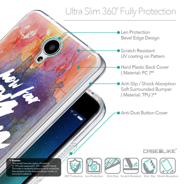 Details in English - CASEiLIKE Xiaomi Redmi Note 2 back cover Quote 2421