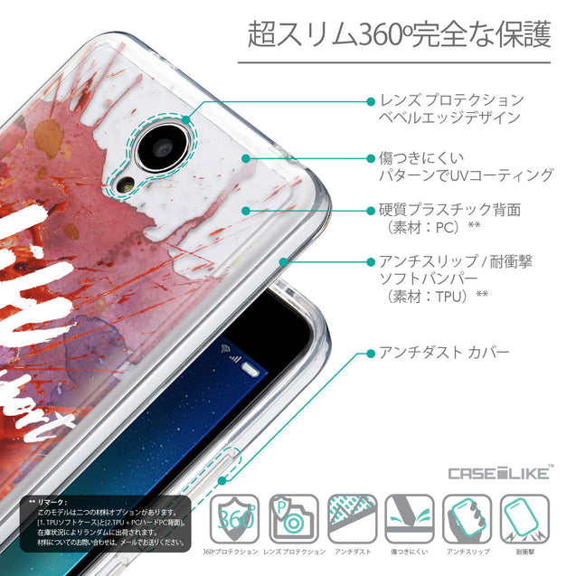 Details in Japanese - CASEiLIKE Xiaomi Redmi Note 2 back cover Quote 2423