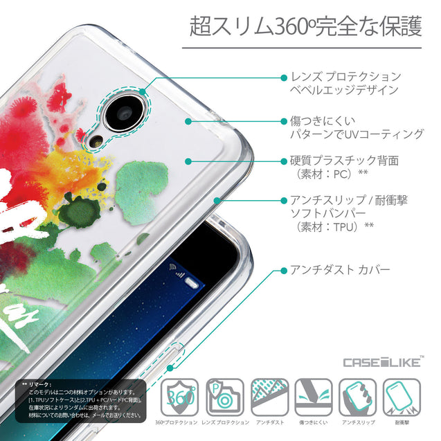 Details in Japanese - CASEiLIKE Xiaomi Redmi Note 2 back cover Quote 2424