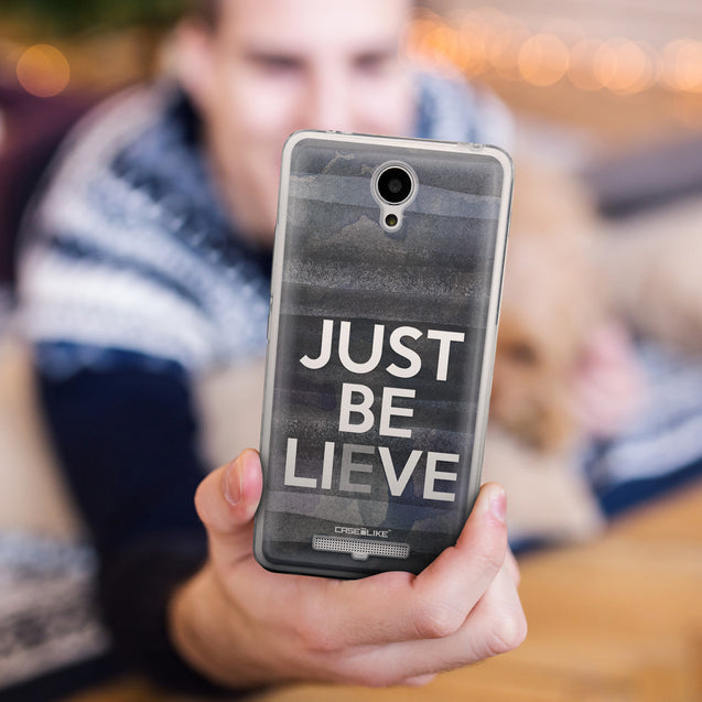 Share - CASEiLIKE Xiaomi Redmi Note 2 back cover Quote 2430