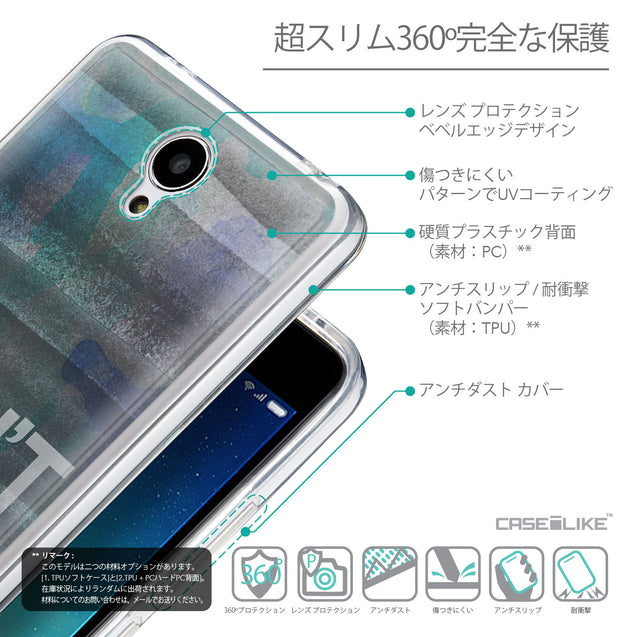 Details in Japanese - CASEiLIKE Xiaomi Redmi Note 2 back cover Quote 2431