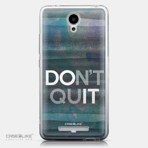 CASEiLIKE Xiaomi Redmi Note 2 back cover Quote 2431