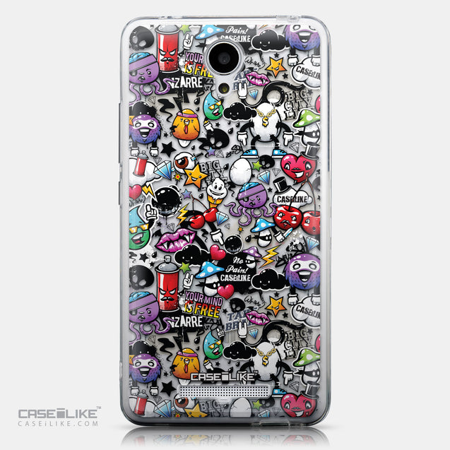 CASEiLIKE Xiaomi Redmi Note 2 back cover Graffiti 2703