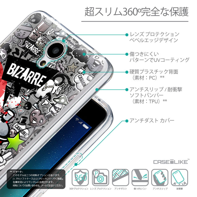 Details in Japanese - CASEiLIKE Xiaomi Redmi Note 2 back cover Graffiti 2705