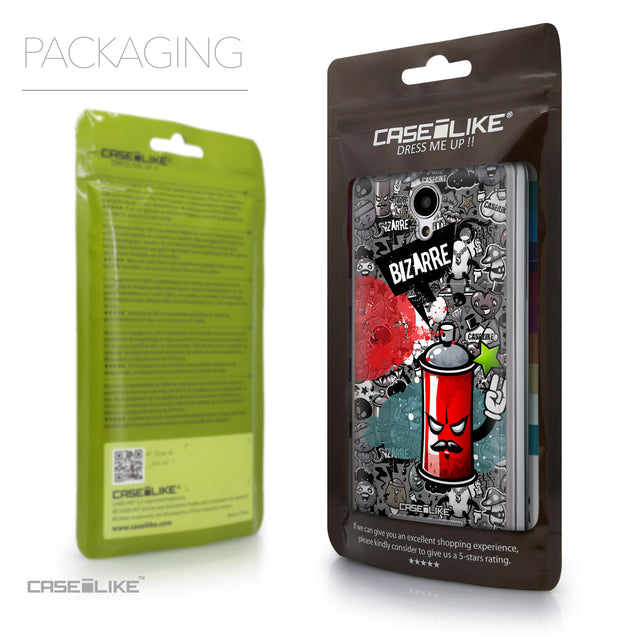Packaging - CASEiLIKE Xiaomi Redmi Note 2 back cover Graffiti 2705