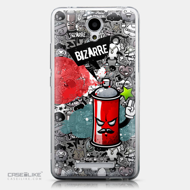 CASEiLIKE Xiaomi Redmi Note 2 back cover Graffiti 2705
