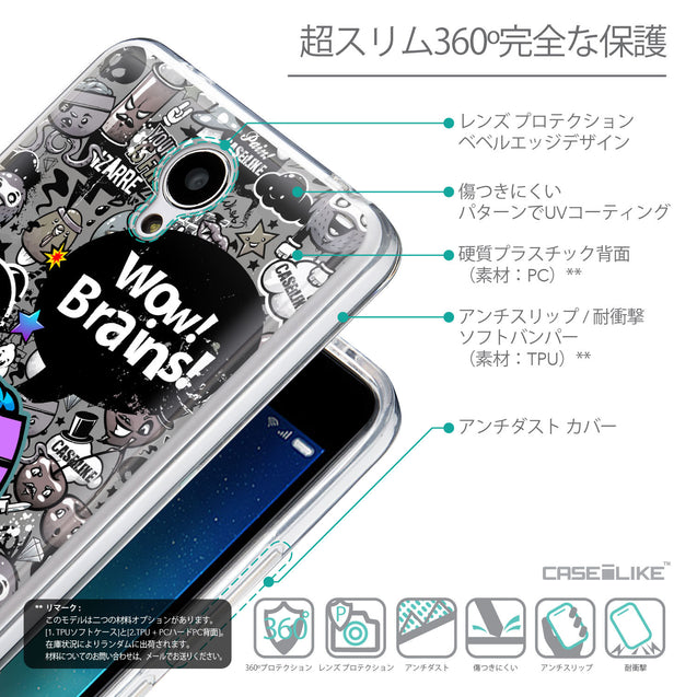 Details in Japanese - CASEiLIKE Xiaomi Redmi Note 2 back cover Graffiti 2707