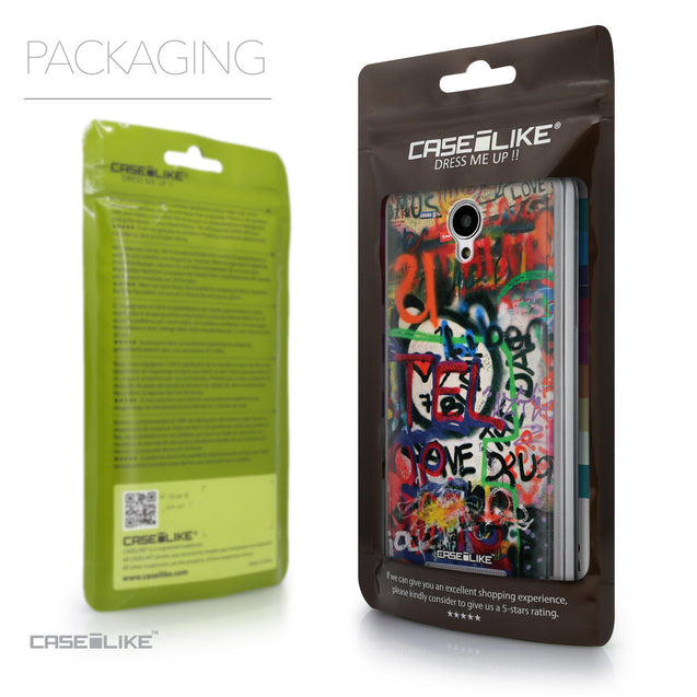 Packaging - CASEiLIKE Xiaomi Redmi Note 2 back cover Graffiti 2721