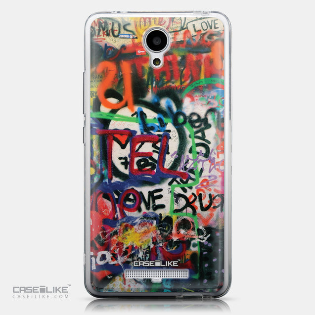 CASEiLIKE Xiaomi Redmi Note 2 back cover Graffiti 2721