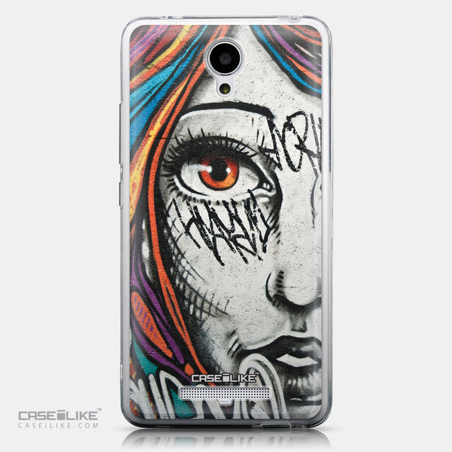 CASEiLIKE Xiaomi Redmi Note 2 back cover Graffiti Girl 2724
