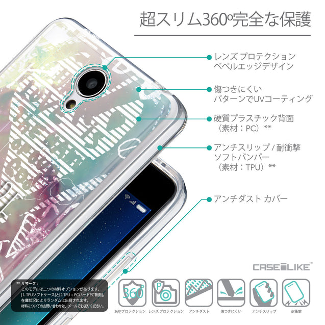 Details in Japanese - CASEiLIKE Xiaomi Redmi Note 2 back cover Graffiti 2726