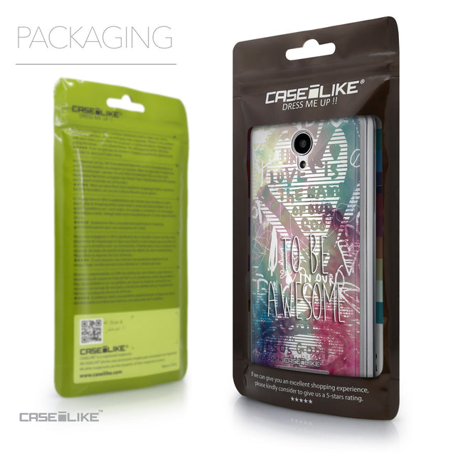 Packaging - CASEiLIKE Xiaomi Redmi Note 2 back cover Graffiti 2726