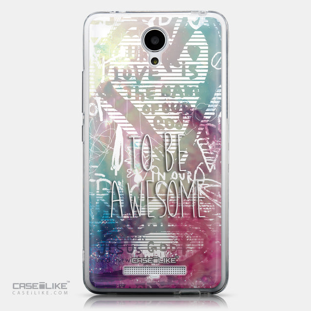 CASEiLIKE Xiaomi Redmi Note 2 back cover Graffiti 2726