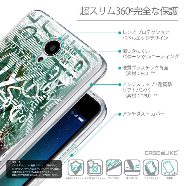 Details in Japanese - CASEiLIKE Xiaomi Redmi Note 2 back cover Graffiti 2728