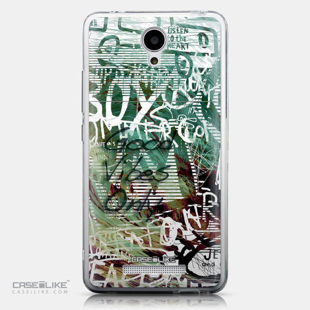 CASEiLIKE Xiaomi Redmi Note 2 back cover Graffiti 2728