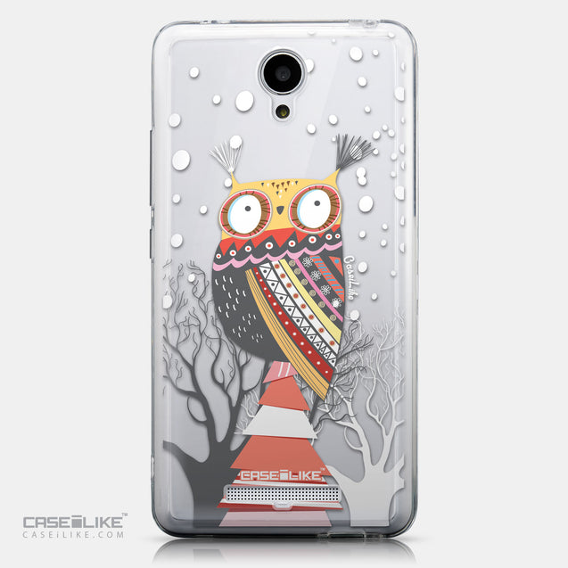 CASEiLIKE Xiaomi Redmi Note 2 back cover Owl Graphic Design 3317