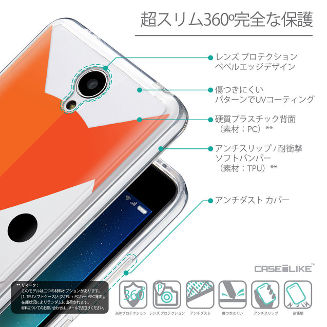Details in Japanese - CASEiLIKE Xiaomi Redmi Note 2 back cover Animal Cartoon 3637
