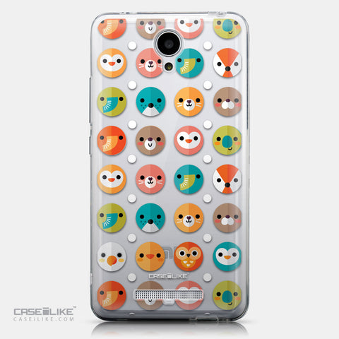 CASEiLIKE Xiaomi Redmi Note 2 back cover Animal Cartoon 3638