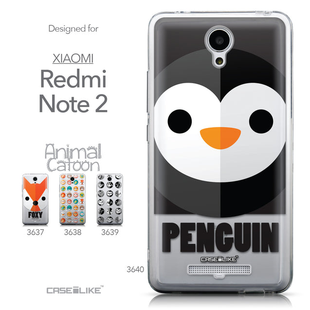 Collection - CASEiLIKE Xiaomi Redmi Note 2 back cover Animal Cartoon 3640