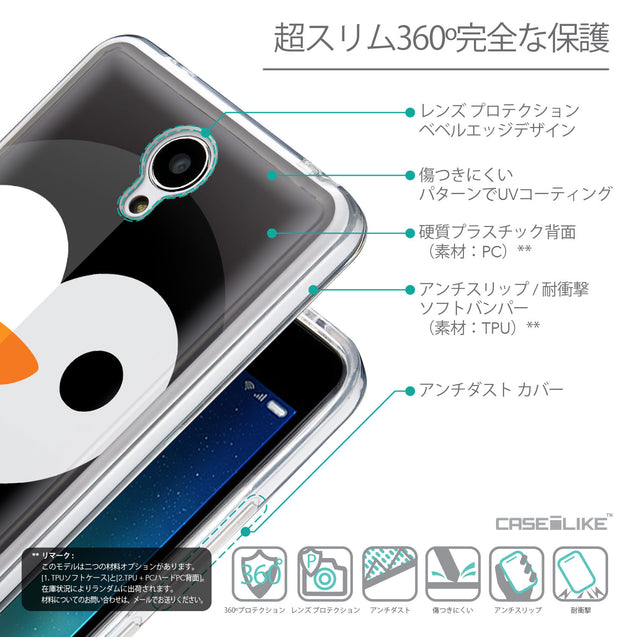 Details in Japanese - CASEiLIKE Xiaomi Redmi Note 2 back cover Animal Cartoon 3640