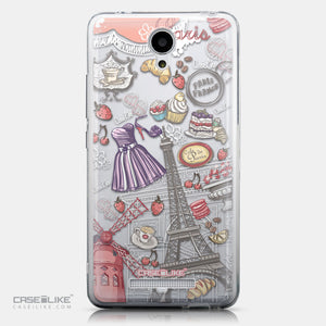 CASEiLIKE Xiaomi Redmi Note 2 back cover Paris Holiday 3907