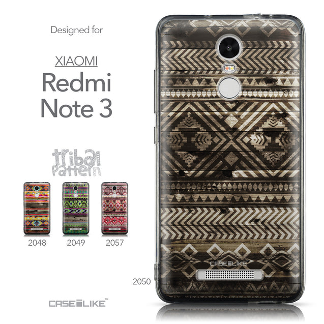 Collection - CASEiLIKE Xiaomi Redmi Note 3 back cover Indian Tribal Theme Pattern 2050