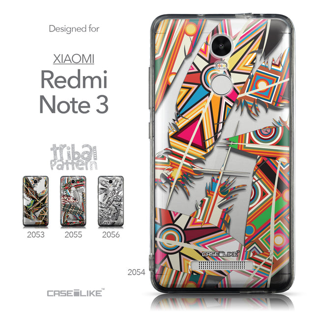 Collection - CASEiLIKE Xiaomi Redmi Note 3 back cover Indian Tribal Theme Pattern 2054