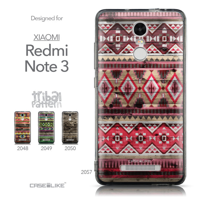 Collection - CASEiLIKE Xiaomi Redmi Note 3 back cover Indian Tribal Theme Pattern 2057