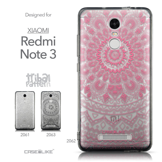 Collection - CASEiLIKE Xiaomi Redmi Note 3 back cover Indian Line Art 2062