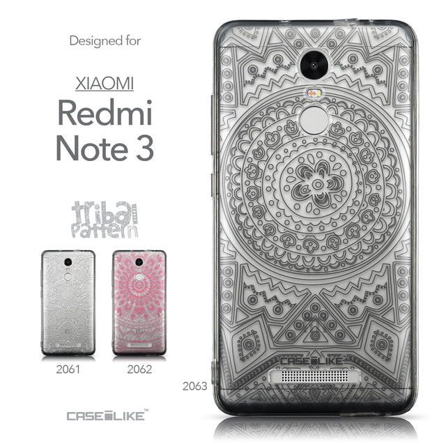 Collection - CASEiLIKE Xiaomi Redmi Note 3 back cover Indian Line Art 2063