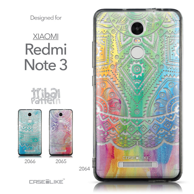 Collection - CASEiLIKE Xiaomi Redmi Note 3 back cover Indian Line Art 2064