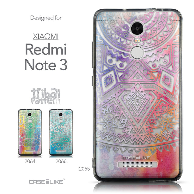 Collection - CASEiLIKE Xiaomi Redmi Note 3 back cover Indian Line Art 2065