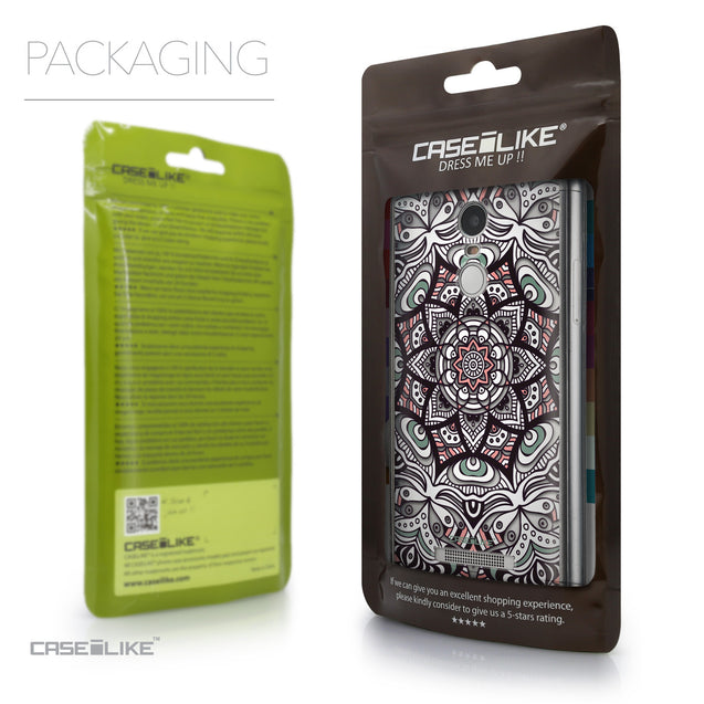 Packaging - CASEiLIKE Xiaomi Redmi Note 3 back cover Mandala Art 2095