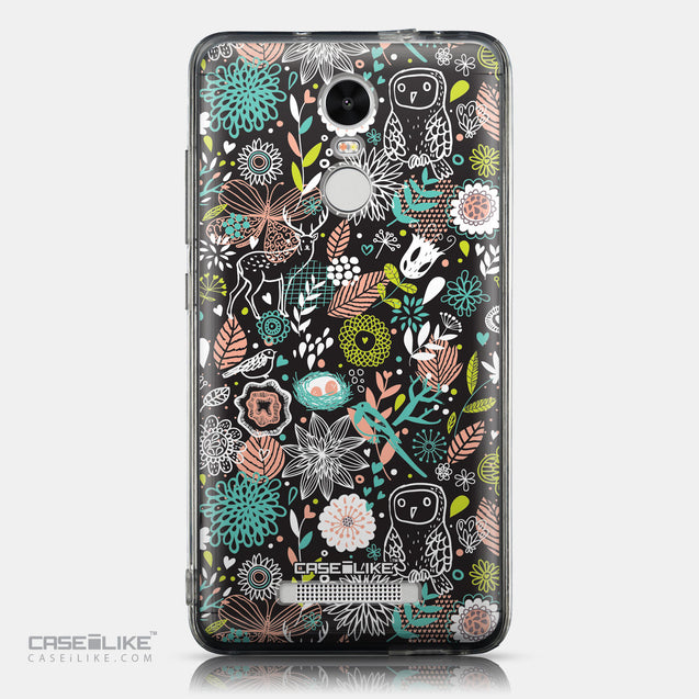 CASEiLIKE Xiaomi Redmi Note 3 back cover Spring Forest Black 2244