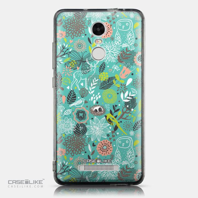 CASEiLIKE Xiaomi Redmi Note 3 back cover Spring Forest Turquoise 2245