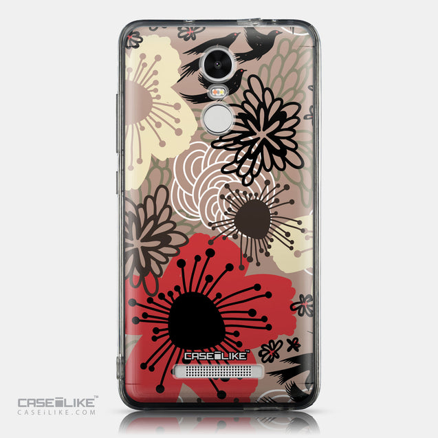 CASEiLIKE Xiaomi Redmi Note 3 back cover Japanese Floral 2254