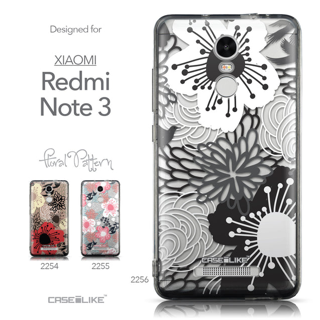 Collection - CASEiLIKE Xiaomi Redmi Note 3 back cover Japanese Floral 2256