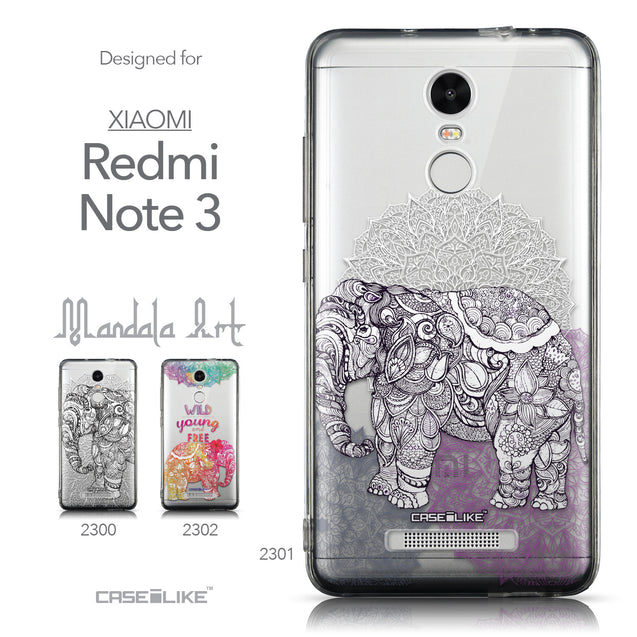 Collection - CASEiLIKE Xiaomi Redmi Note 3 back cover Mandala Art 2301