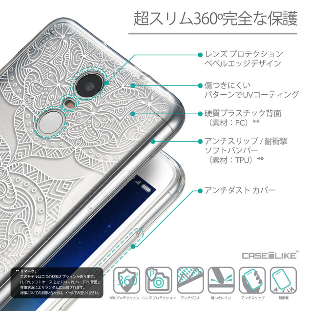 Details in Japanese - CASEiLIKE Xiaomi Redmi Note 3 back cover Mandala Art 2303