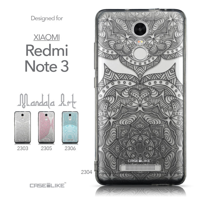 Collection - CASEiLIKE Xiaomi Redmi Note 3 back cover Mandala Art 2304