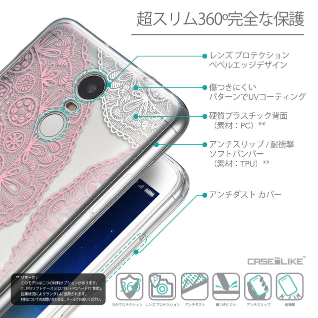 Details in Japanese - CASEiLIKE Xiaomi Redmi Note 3 back cover Mandala Art 2305