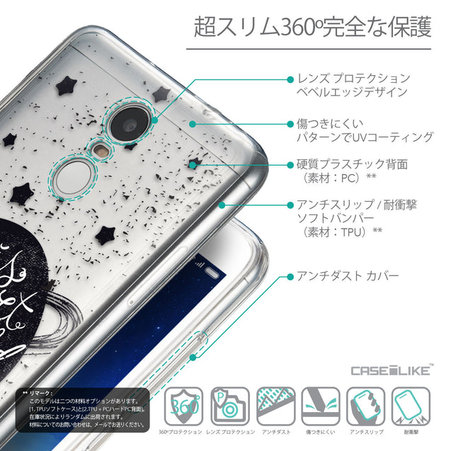 Details in Japanese - CASEiLIKE Xiaomi Redmi Note 3 back cover Quote 2401