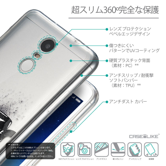 Details in Japanese - CASEiLIKE Xiaomi Redmi Note 3 back cover Quote 2402