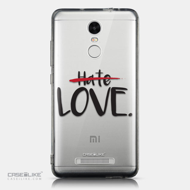 CASEiLIKE Xiaomi Redmi Note 3 back cover Quote 2406