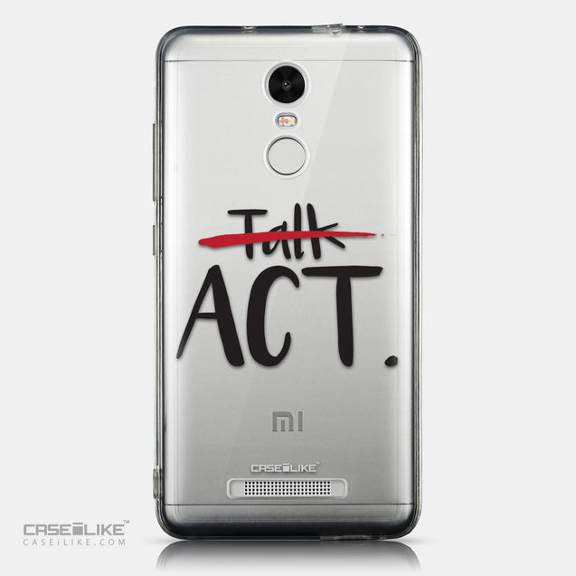 CASEiLIKE Xiaomi Redmi Note 3 back cover Quote 2408