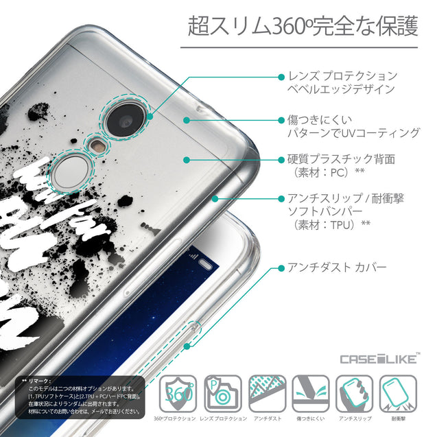 Details in Japanese - CASEiLIKE Xiaomi Redmi Note 3 back cover Quote 2413