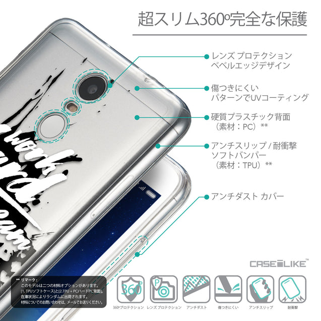 Details in Japanese - CASEiLIKE Xiaomi Redmi Note 3 back cover Quote 2414