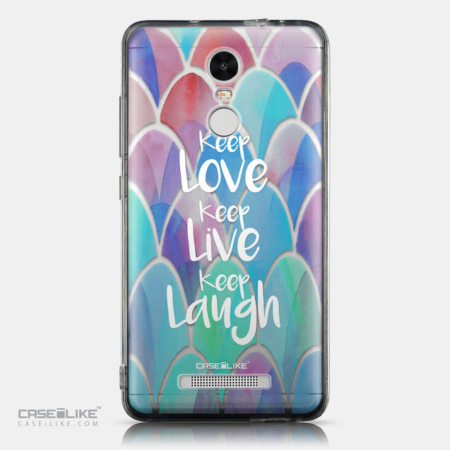 CASEiLIKE Xiaomi Redmi Note 3 back cover Quote 2417