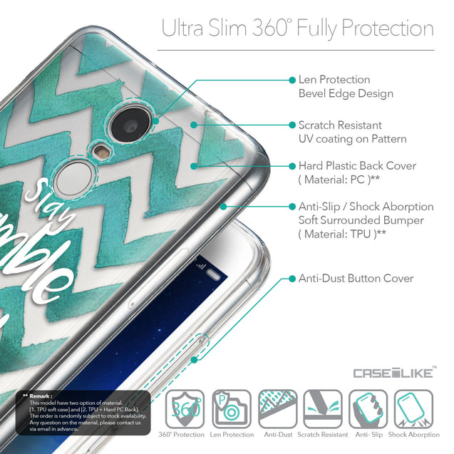Details in English - CASEiLIKE Xiaomi Redmi Note 3 back cover Quote 2418
