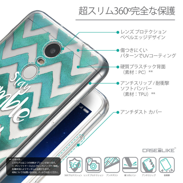 Details in Japanese - CASEiLIKE Xiaomi Redmi Note 3 back cover Quote 2418